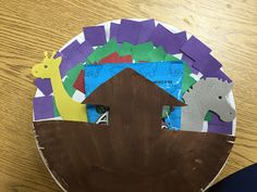 Blessings for Bible School Teachers: Noah Craft.Easy and Tasty Preschool Bible, Preschool Crafts, Like This Song, Cut Animals, Just Pretend, Paper Plate Crafts, Bible Crafts, Cute Songs, Colored Paper