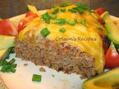 Coleen's Recipes: TACO MEAT LOAF