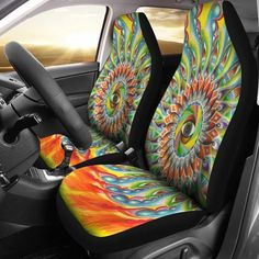 Set of 2 premium car seat covers. Eye Mandala, Ford Focus Car, Chairs For Rent, Comfortable Office Chair, Patio Chair Cushions, Car Accessories For Girls, Cheap Pendant Lights, Premium Cars, Car Covers