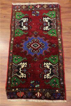 Turkish handmade doormat, small rug 92x50 cm-43688: Itshandicraft.com: şimşekhalı