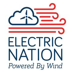 "Logo design for the Wind Energy Foundation's media campaigns ""Electric Nation"" & ""Wind Energy. Smart."" by graphic designer Jacob Robison."