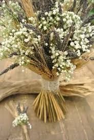 Resultado de imagem para gypsophila and wheat centerpieces first communion
