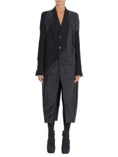 RICK OWENS Cappotto In Lana. #rickowens #cloth #coats-jackets