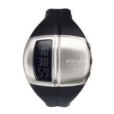 SOLUS LEISURE 810  - FINGER TOUCH HEART RATE MEASUREMENT - DATE - ALARM AND HOURLY CHIME - EL BACKLIGHT - 5 ATM
