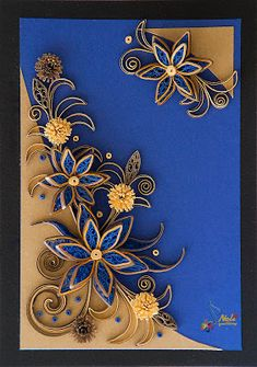Neli is a talented quilling artist from Bulgaria. Her unique quilling cards bring joy to people around the world. Neli Quilling, Quilled Roses, Paper Quilling Cards, Quilling Work, Origami And Quilling, Quilled Paper Art, Paper Quilling Designs, Quilling Paper Craft, Quilling Patterns