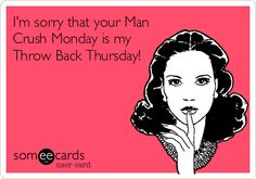 Too funny! Never seen an ex on man crush Monday but the idea is pretty hilarious. Haha Funny, Funny Cute, Hilarious, Funny Stuff, Funny Things, Just For Laughs, Just For You, Man Crush Monday, Moon Moon