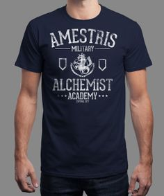 """Alchemist Academy"" today on Qwertee : Limited Edition Cheap Daily T Shirts 