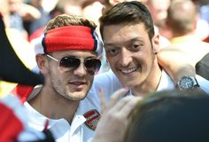 Jack Wilshere admits he's in love with Arsenal team-mate Mesut Ozil