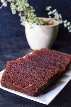 Eggless wholewheat chocolate cake - Eggless Chocolate Cake, Eggless Desserts, Eggless Recipes, Eggless Baking, Delicious Desserts, Amish Recipes, Yummy Food, Healthy Recipes, Pizza Recipes