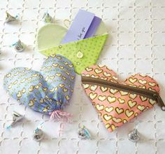 Sweets for your sweetie. Make these cute treat bags for Valentine's Day!