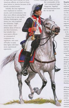 American; 4th Light Dragoons, Trumpeter, 1780