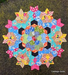 Cabbage Quilts: Growing a Mandala