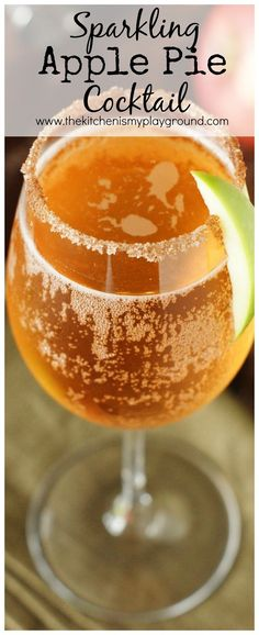 Honey Granules dissolve beautifully in both hot and cold drinks, like this Fall-inspired Sparkling Apple Pie Cocktail . Loaded with the w...