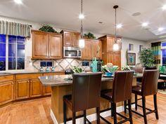 Kitchen Islands: Beautiful, Functional Design Options | Kitchen Designs - Choose Kitchen Layouts & Remodeling Materials | HGTV