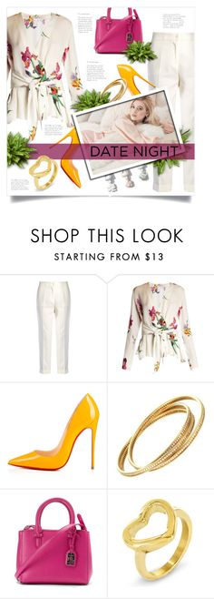 """""""Hot Date Night Style"""" by lenochca ❤ liked on Polyvore featuring Etro, Christian Louboutin, Ralph Lauren, West Coast Jewelry and DateNight"""