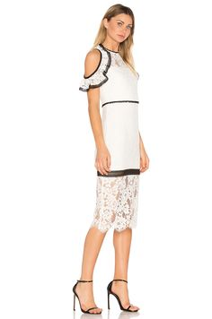 Alexis Evie Dress in White | REVOLVE