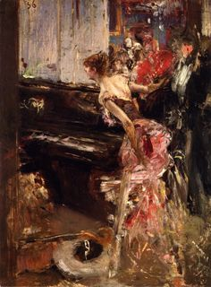 Recital: 1884 by Giovanni Boldini (Sterling and Francine Clark Art Institute - Williamstown, MA) -