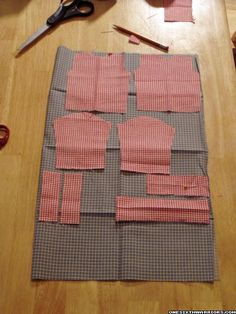 TUTORIAL: How to make 1:6 scale shirts (pullover type) - OSW: One Sixth Warrior Forum