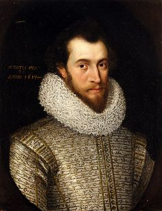 Larkin, William (1580c.-1619) - Portrait of a Nobleman, Said to be Robert, Earl of Essex (Private Collection)
