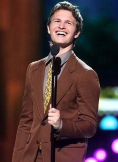 Pin for Later: 37 Times Ansel Elgort Made You Smile With One Simple Tweet