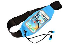 Target Running Belt for Fitness Training Exercise Treadmill Workouts Racing Cycling Yoga Dancing Camping Hiking Traveling Dog Walking Sports OutdoorsSuperior Safety Comfort Runners Waist Pack Blue * Be sure to check out this awesome product. (Note:Amazon affiliate link)
