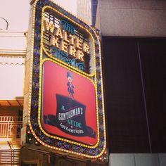 A Gentleman's Guide to Love and Murder playing at the Walter Kerr Theatre on Broadway