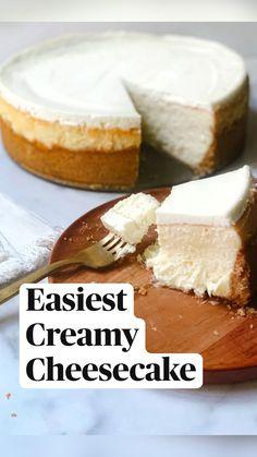 Cheesecake Recipes, Cupcake Recipes, Baking Recipes, Cupcake Cakes, Dessert Recipes, Cupcakes, Cookie Desserts, No Bake Desserts, Just Desserts
