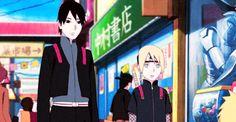 Sai & Inojin Like father, like son Naruto Shippuden, Sai Naruto, Anime Naruto, Naruto Cute, Naruto Funny, Sarada Uchiha, Kakashi, Naruto Comic, Naruhina