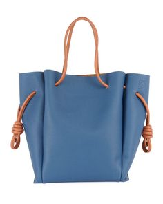Get free shipping on Loewe Flamenco Knot Two-Tone Tote Bag at Neiman Marcus. 8f13b26e88