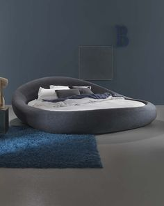 Home - Dorelan Bedroom Furniture Design, Cool Furniture, Bedroom Decor, Bedroom Ideas, Couch With Ottoman, Round Beds, Big Beds, Apartment Projects, Interior Decorating