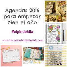 Agendas 2016 para empezar bien el año #elpindeldia