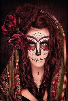 "#Poster verticale ""Tattoo Day Of The Dead""."