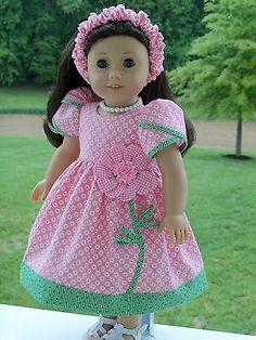 Novo! Padrão De Costura Para Boneca American Girl por farmcookies Designs