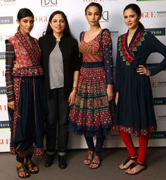 Runner-up of Vogue India's Fashion Fund, Payal Pratap