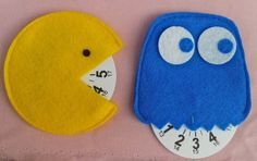 Tutorial disco orario Pacman >>> [crafts to make and sell]