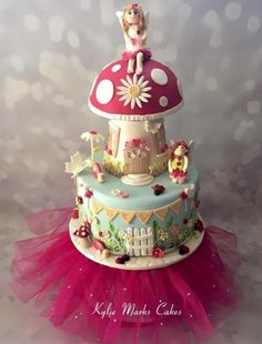 Fairy garden cake by Kylie Marks