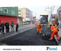 Avenida Emancipação passa por recapeamento em Itaquá - Leia: http://fb.com/jornalpluralsp  - Foto: Oswaldo Birke/PMI - Jornal Plural (@JornalPluralpoa) | Twitter