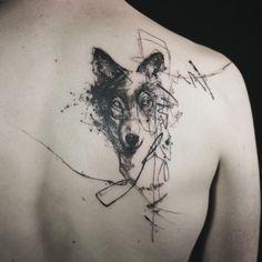 Dope Tattoos, Modern Tattoos, Head Tattoos, Body Art Tattoos, Tattoo Drawings, Tattoos For Guys, Tatoos, Wolf Tattoo Forearm, Arm Tattoo