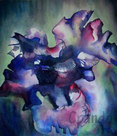 https://www.facebook.com/CpandoCreaciones LIRIOS  watercolor arches  22·23 in  México Diciembre 2013  Cecilia Pando