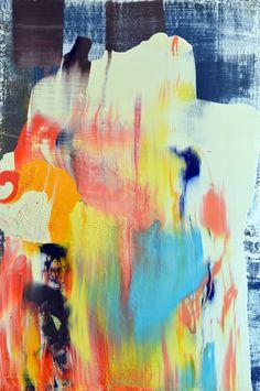 Anthony Hunter, 'Nice Bright Colours Scrape Painting,' , Joanne Artman Gallery