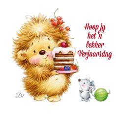 Hoop jy het 'n lekker Verjaarsdag Karien Birthday Qoutes, Birthday Wishes Funny, Birthday Messages, Birthday Greetings, Happy Birthday, Afrikaanse Quotes, Big Cakes, Kid Party Favors, Wisdom Quotes