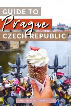 This is the perfect weekend itinerary for visiting Prague! From visiting the Prague Castle to the Charles Bridge to the Old Town Square, this 2 day itinerary covers all the must see sights in Prague. The Republic, Czech Republic, Weekend In Prague, Visit Prague, Charles Bridge, Prague Travel, Prague Castle, Old Town Square, Food