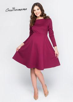 ПЛАТЬЕ ROUGE 879 ГРН Для Беременных и кормящих мам. Можно носить после беременности и грудного вскармливания. Повседневно нарядное платье пошито из мягкой ткани джерси насыщенного цвета. Секрет кормления в виде 2х незаметных вертикальных молний.  По желанию клиента возможен вариант платья без молний. Состав: 80% вискоза, 15% пэ, 5% эластан  Для того, чтобы изделия хорошо на вас «сели» - при заказе укажите ваши замеры: объём груди, талии или живота, бёдер, рост и положение.  Отшив: 2-3 дня…