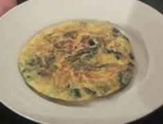 Receta Saludable Tortilla de Espinacas