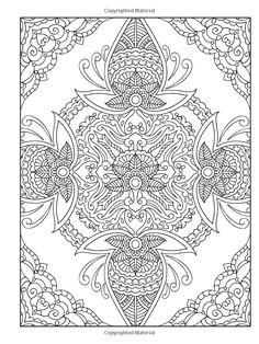 Abstract Doodle Zentangle Coloring pages colouring adult detailed advanced… Mandala Coloring Pages, Coloring Book Pages, Printable Coloring Pages, Coloring Sheets, Colorful Drawings, Colorful Pictures, Coloring Pages For Grown Ups, Whole Cloth Quilts, Mehndi Designs