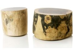 Munggur Tree Trunk Coffee Table - Large For Sale