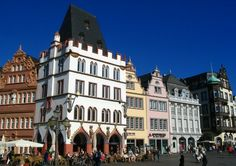 Trier, on the beautiful Mosel, where I studied for a time....
