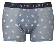 Tommy Hilfiger Men's Star Print Boxer Shorts – Faded Denim RRP: £23.00 | Now £12.00 – Save: 48% http://tidd.ly/3ef6e78c