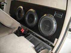 02 Ford Explorer Sport Trac Subwoofer box!