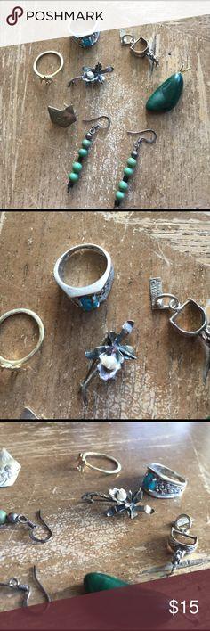 💫Lot Sterling silver solid 925 vintage 💫 💫lot Sterling silver solid 925 vintage 💫 Jewelry Rings